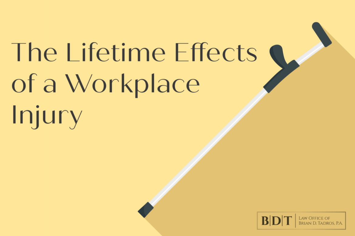 The lifetime effects of a workplace injury