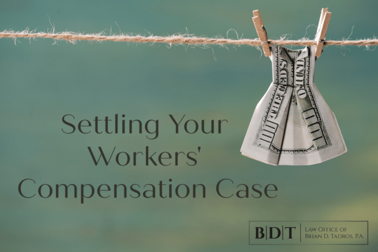 settling your workers' compensation case
