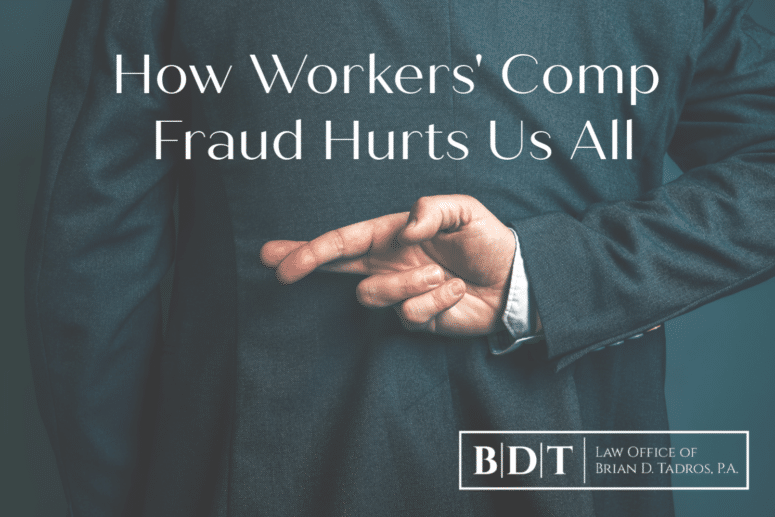 How workers' comp fraud hurts us all