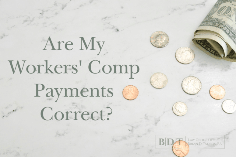 """Are My Workers' Comp Payments Correct?"" Here's how to tell."