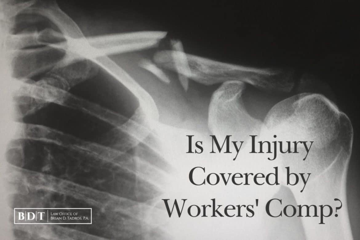 Is My Injury Covered By Workers' Comp?