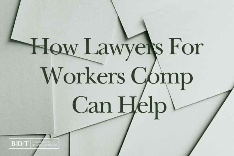 How Lawyers For Workers Comp Can Help